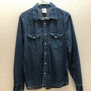 H&M Denim Shirt (Denim Blue)